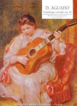 Picture of AGUADO/CACERES MENUET AFFANDGO OP15 Guitare Classique