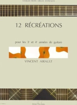 Picture of AIRAULT RECREATIONS(12) Guitare Classique