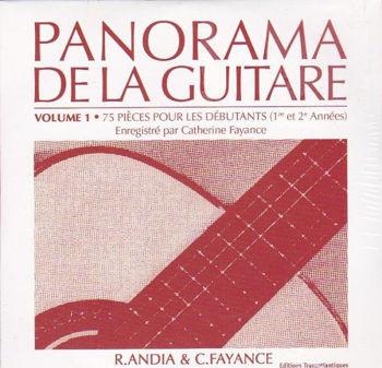 Picture of ANDIA PANORAMA DE LA GUITARE V1 LE CD Guitare Classique