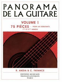 Picture of ANDIA PANORAMA DE LA GUITARE VOL1 Guitare Classique