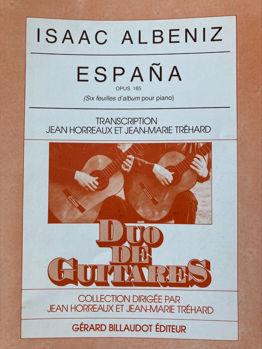 Image de ALBENIZ ESPANA POUR 2 Guitare Classique