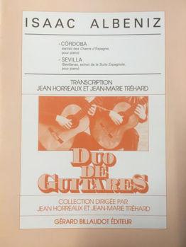 Image de ALBENIZ CORDOBA SEVILLA DUO Guitare Classique