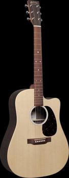Image de Guitare Folk Electro Acoustique MARTIN X Serie Dreadnought DC-X2E Epicéa / HPL Rosewood