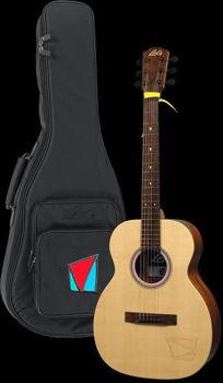 Image de Guitare Folk Acoustique LAG TRAVEL Signature VIANNEY +Housse