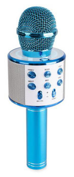 Image de Micro Karaoke Bluetooth, HP, MP3 Bleu