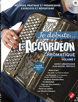 Image de JE DEBUTE L'ACCORDEON CHROMATIQUE LEMARCHAND +CDgratuit