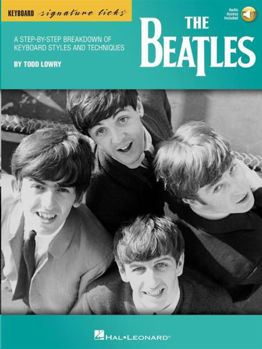 Picture of THE BEATLES KEYBOARD SIGNATURE LICKS BOOK +Accès Audio Inclus