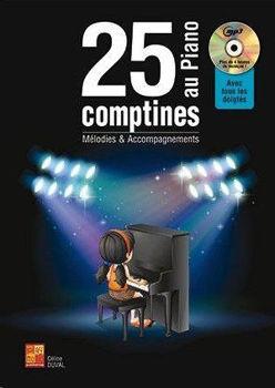 Image de 25 COMPTINES AU PIANO Mélodies & Accompagnements +CDgratuit