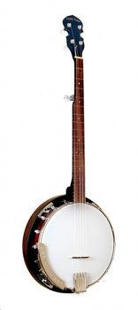 Image de Banjo 5 cordes Cripple  Creek avec resonateur et housse