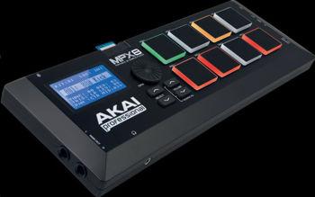 Image de Controleur Surface AKAI MPX8 USB/MIDI Lecteur de Sample sur carte SD