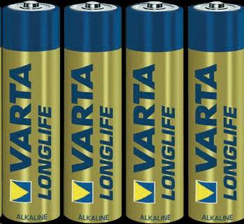 Image de PILES 1.5V AAA VARTA alkaline par4