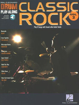 Picture of DRUM PLAY ALONG V 02 CLASSIC ROCK BK+CD Batterie