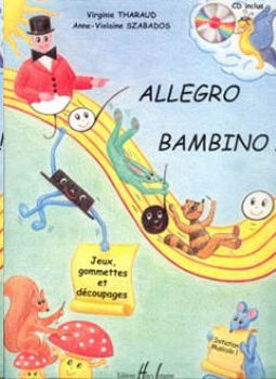 Picture of THARAUD ALLEGRO BAMBINO V1+CDgratuit