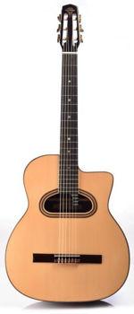 Image de Guitare Manouche Classique ALTAMIRA M01 MACCAFERI Epicéa Massif