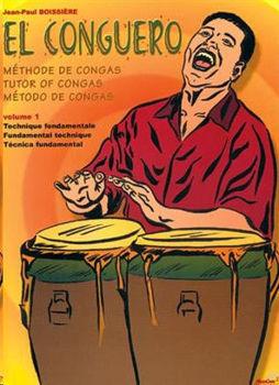 Image de BOISSIERE EL CONGUERO Méthode de Congas V1