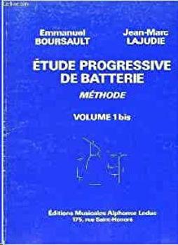 Image de BOURSAULT Etudes Progressives Batterie VOL1BIS