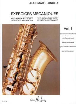 Image de LONDEIX EXERCICES MECANIQUES V1 Saxophone