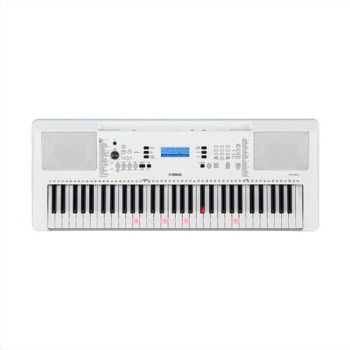 Picture of Clavier Arrangeur EZ300 YAMAHA lumineux  BLANC
