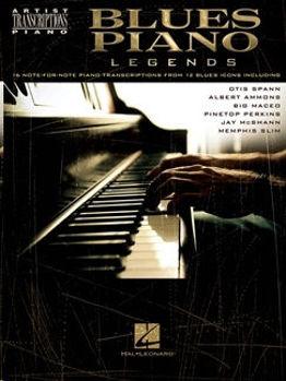 Picture of BLUES PIANO LEGENDS Transcriptions Piano