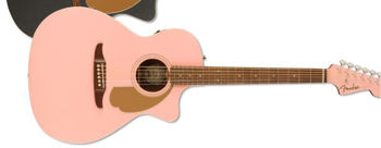 Picture of Guitare Folk Electro Acoustique FENDER NEWPORTER Edition Limitée Shell Pink